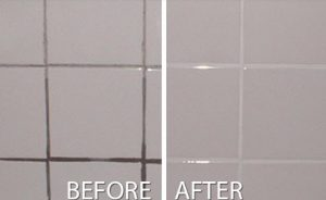 Cleaning chores - don't avoid the grout
