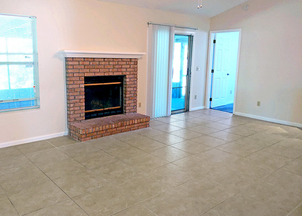 Solutions for an Ugly Red Brick Fireplace